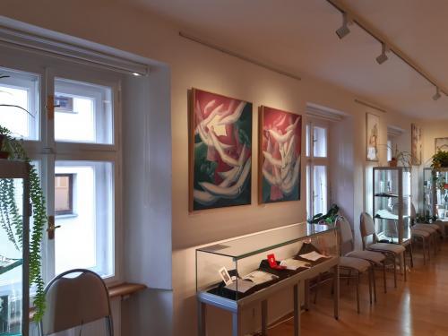 13. vystava obrazu z Mesta Prachatice v galerii sv.JNN