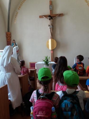 9. misijni den deti v kapli sv.JNN